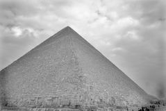 The ancient pyramids of Egypt. In Cairo royalty free stock photography