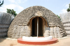 The ancient Queen's Palace in Nyanza Stock Photo