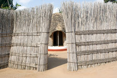 The ancient Queen's Palace in Nyanza Stock Image