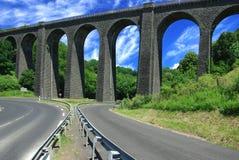 Ancient railway bridge. France Royalty Free Stock Images