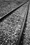 Ancient railway line Royalty Free Stock Photo