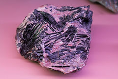 Ancient rare minerals Royalty Free Stock Photo