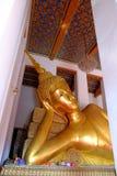 Ancient Reclining Buddha Statue. Royalty Free Stock Photos