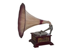 Ancient record player Royalty Free Stock Photography
