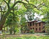 Ancient red brick building in Sun Yat-Sen University 2 Stock Image