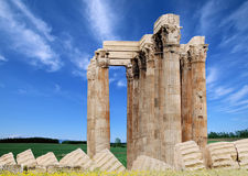 Ancient Relics. The famous ancient pillar relics Royalty Free Stock Photos