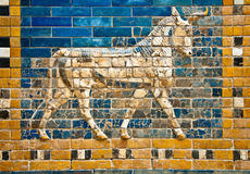 Ancient  relief detail Royalty Free Stock Photography