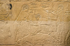 Ancient relief Royalty Free Stock Photos