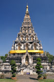 The ancient 3. This is a ancient remains in ChianMai at thailand stock photography