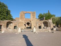 The ancient remains of a Roman city of Lazio - Italy 0148 Stock Photos