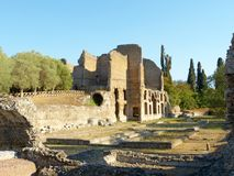 The ancient remains of a Roman city of Lazio - Italy 0159 Royalty Free Stock Images