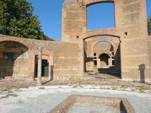 The ancient remains of a Roman city of Lazio - Italy 0154 Royalty Free Stock Image