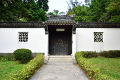Ancient residential buildings in China. Ancient residential buildings in the Shenzhen International Garden and Flower Expo Park,China royalty free stock images