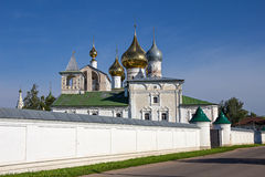 Ancient Resurrection Monastery. Uglich. Russia. Stock Photos