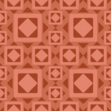 Ancient rhombus pattern Royalty Free Stock Photos