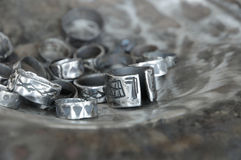 Ancient ring Royalty Free Stock Photo