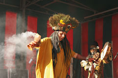 Ancient ritual in Mexico Royalty Free Stock Photo