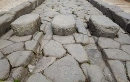 An ancient road. stock photo