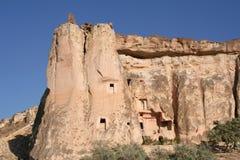 Ancient Rock Church in Cappadocia Royalty Free Stock Photos