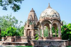 Free Ancient Rock Curved Temples Of Hindu Gods And Goddess Stock Photos - 47047153