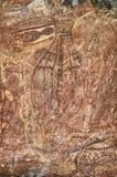 Ancient rock drawing Royalty Free Stock Photo