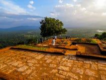 Ancient rock fortress of Sigiriya, Sri Lanka Stock Photo
