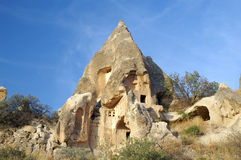 Ancient rock house near Goreme Royalty Free Stock Image