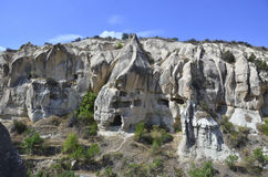 Ancient Rock Houses Royalty Free Stock Photo