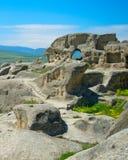 Ancient rock town, Georgia Stock Image