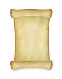 Ancient roll manuscript Royalty Free Stock Photography