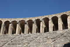 Ancient Roman amphitheatre Royalty Free Stock Photo