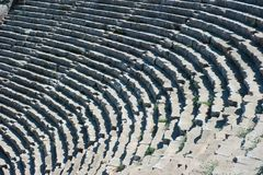 Ancient Roman Amphitheatre Royalty Free Stock Image
