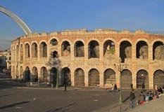 Ancient roman amphitheatre in Verona Stock Photography
