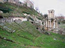 Ancient Roman Amphitheatre, Volterra, Italy Royalty Free Stock Photo