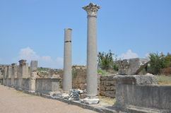 ancient roman antalya turkey, king roads Stock Photography