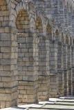 Ancient Roman aqueduct Royalty Free Stock Images