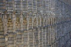 Ancient Roman aqueduct Royalty Free Stock Photos