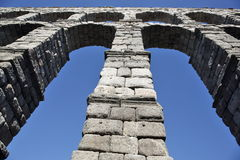 Ancient Roman aqueduct Royalty Free Stock Photo