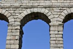 Ancient Roman aqueduct Stock Image