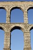 Ancient Roman aqueduct Stock Images