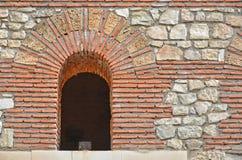 Ancient Roman Arch Stock Photo