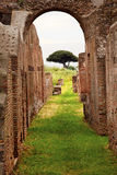 Ancient Roman Arch Ostia Antica Rome Italy Royalty Free Stock Images