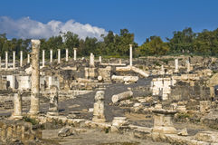 Ancient Roman archaeological site Royalty Free Stock Image