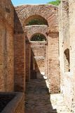 Ancient Roman Arches Royalty Free Stock Photography