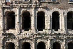 Ancient Roman architectural details Stock Image