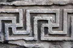 Ancient Roman architectural details Royalty Free Stock Photos