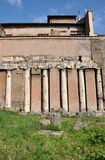 Ancient Roman architectural details Royalty Free Stock Images