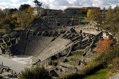 Ancient roman arena Stock Image