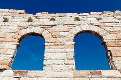 Ancient Roman Arena in Verona Stock Photo