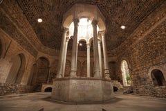 Ancient roman bath in Girona. Spain. Stock Photography